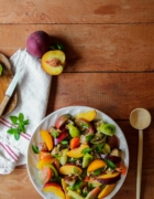 Tomates farcies {vegan – sans gluten}