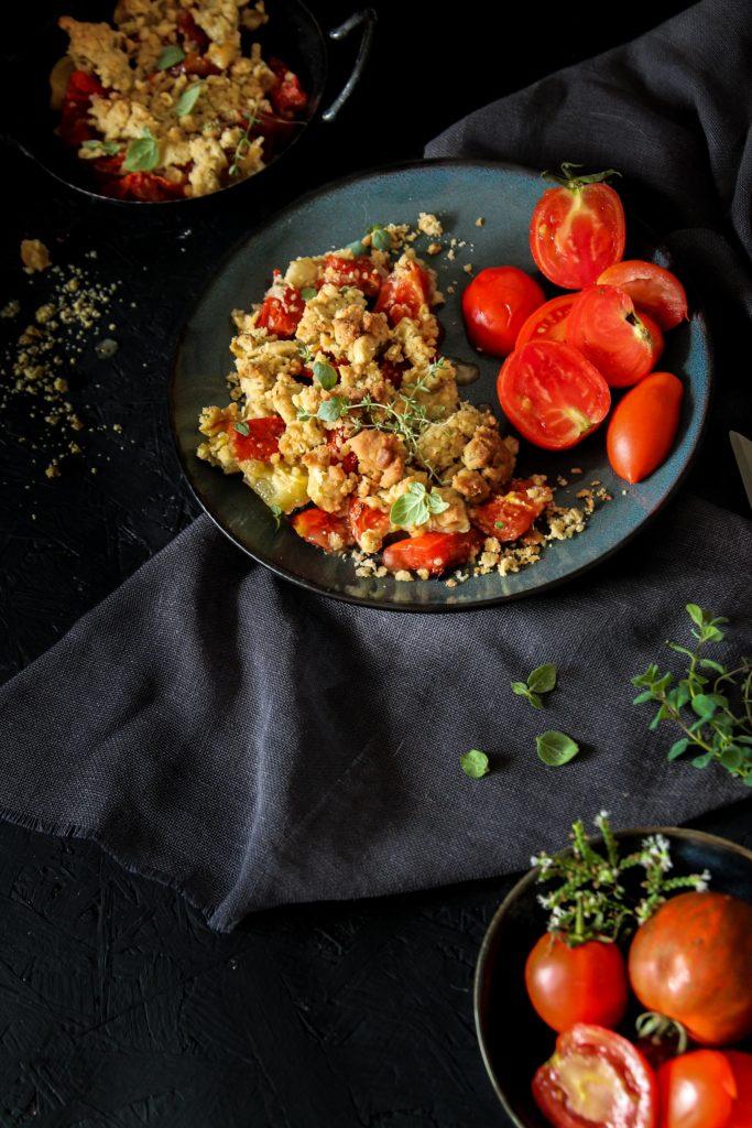 Crumble de tomates recette