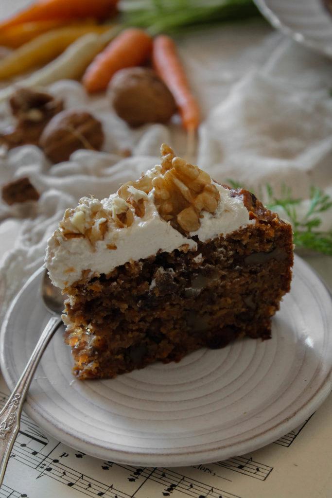 Carrot cake vegan