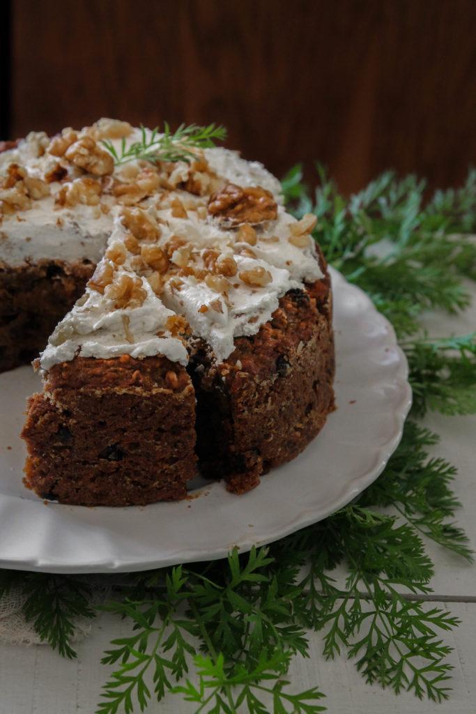 Carrot cake vegan recette