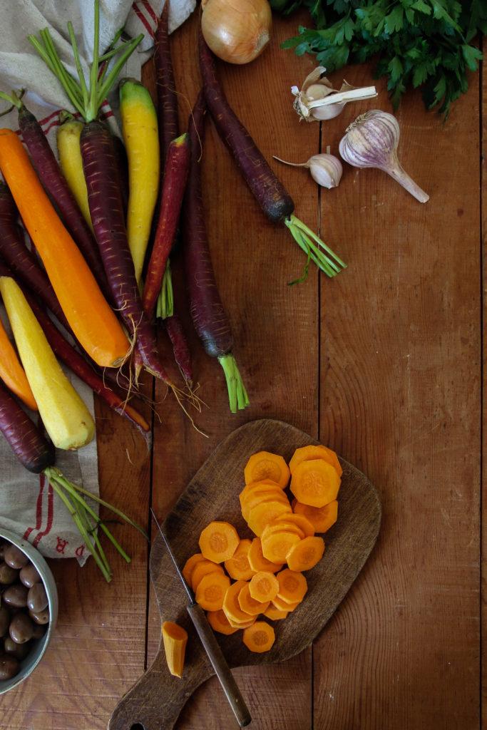 Cocotte de carottes