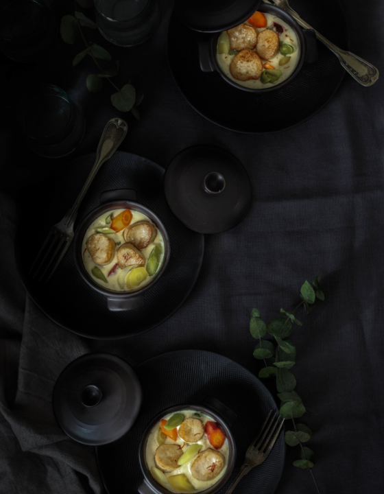 Cassolette de la mer végétale