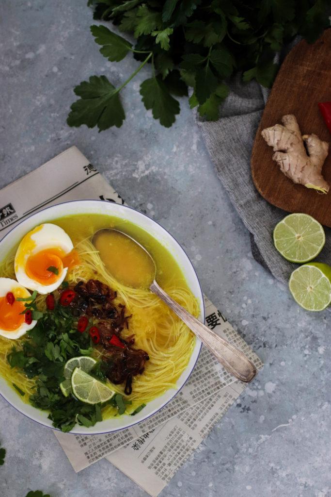 Soupe soto ayam recette
