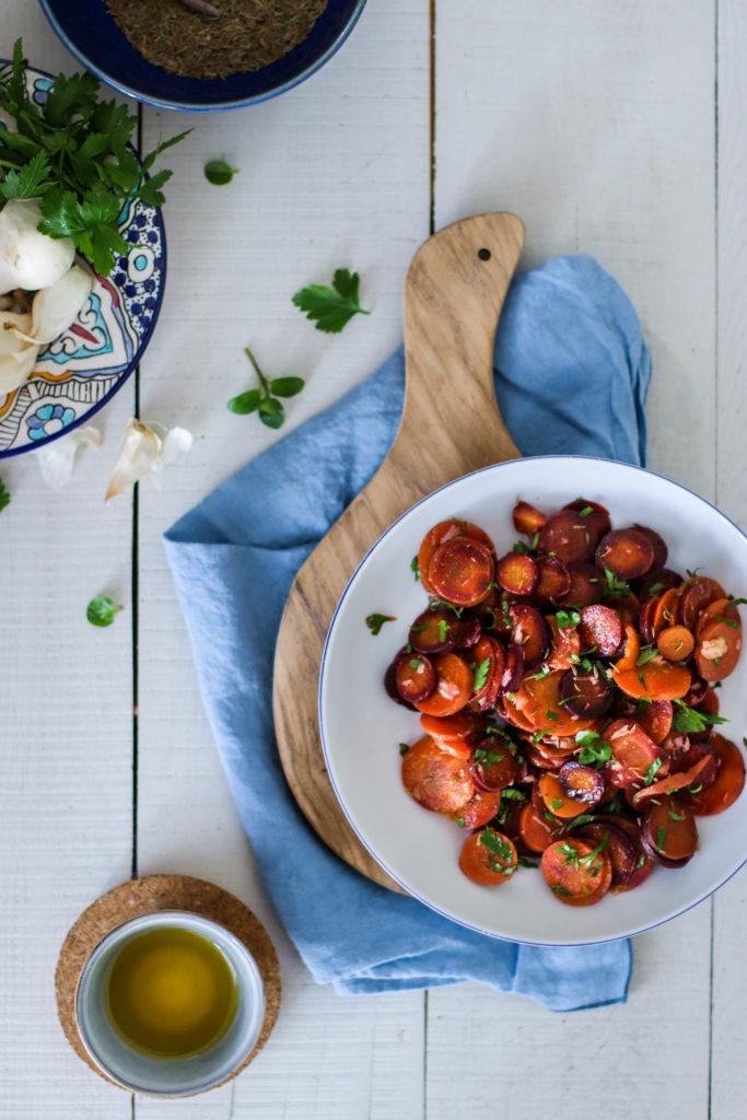 recette de salade de carottes