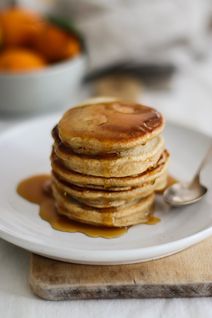 Fluffy pancakes {vegan}