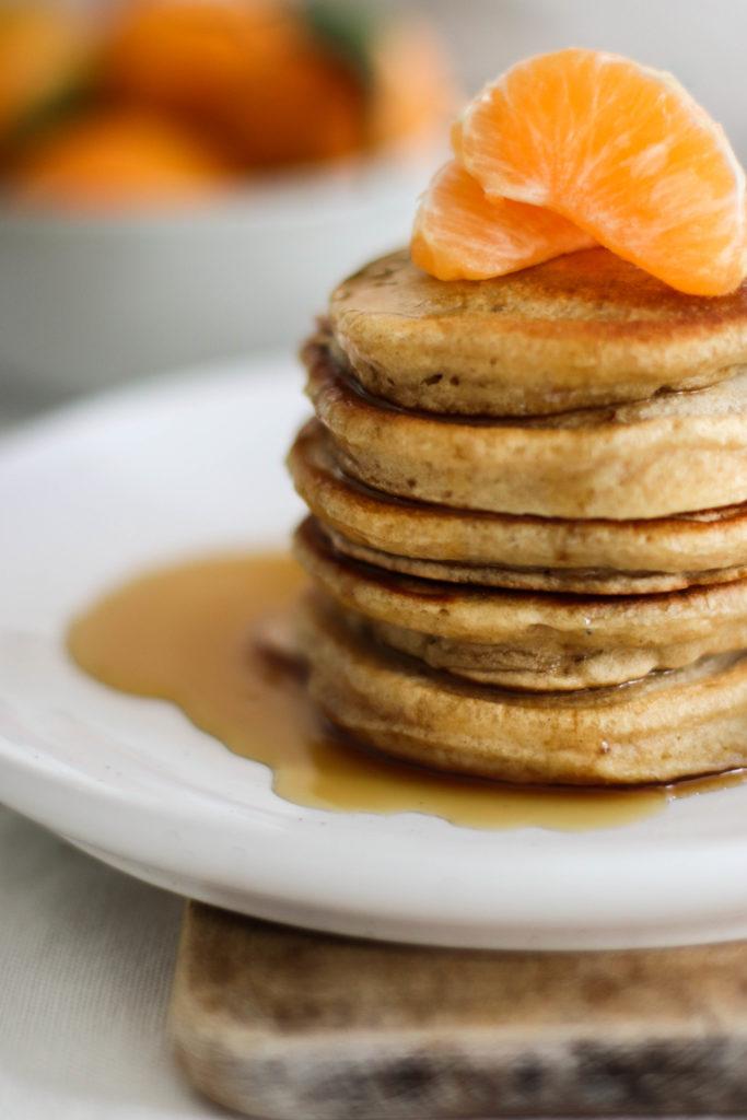pancakes vegan facile