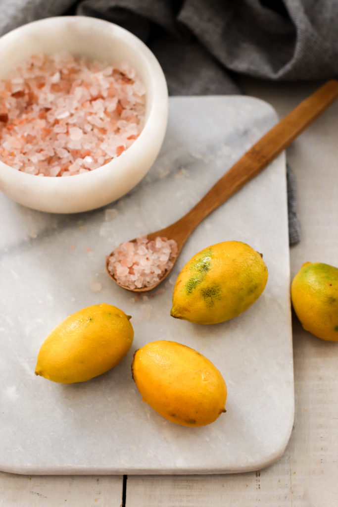 Citrons au sel