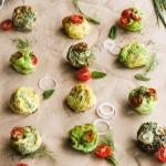 Frittata muffins aux légumes {sans gluten - sans lait}