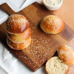 Homemade buns {sans lait}