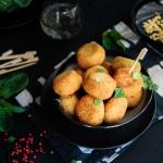 Croquette d'amarante aux épinards {vegan - sans gluten}