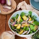 Salade de pourpier et pommes de terre {vegan - sans gluten}