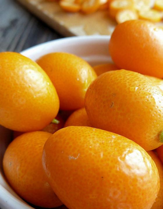 Kumquats confits à la vanille