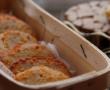 Crumble de poireaux aux noix {sans gluten}