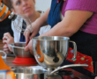 Chou blanc grillé aux épices libanaises et sauce tahiné