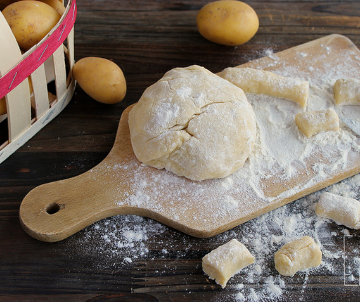 Gnocchis di patate frits