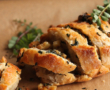 Aardappelsalade Primeurs, paddestoelen en kruiden