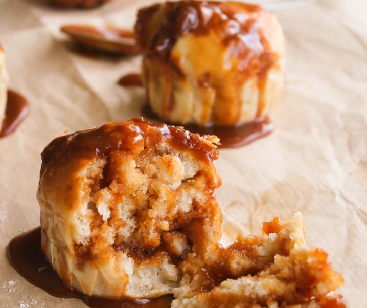 Muffins au caramel beurre salé