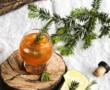 Polenta crémeuse au potimarron et champignons {vegan – sans gluten}