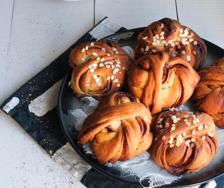 Cinnamon rolls {vegan}