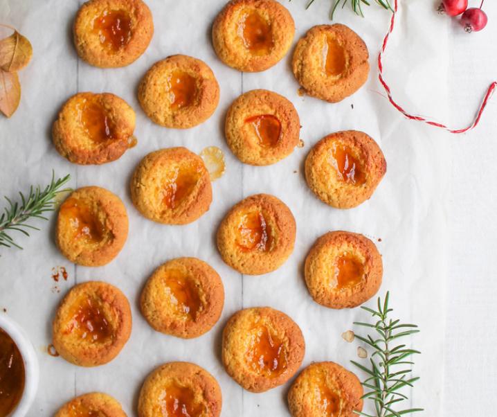 Biscuits empreinte courge-orange (Vegan}