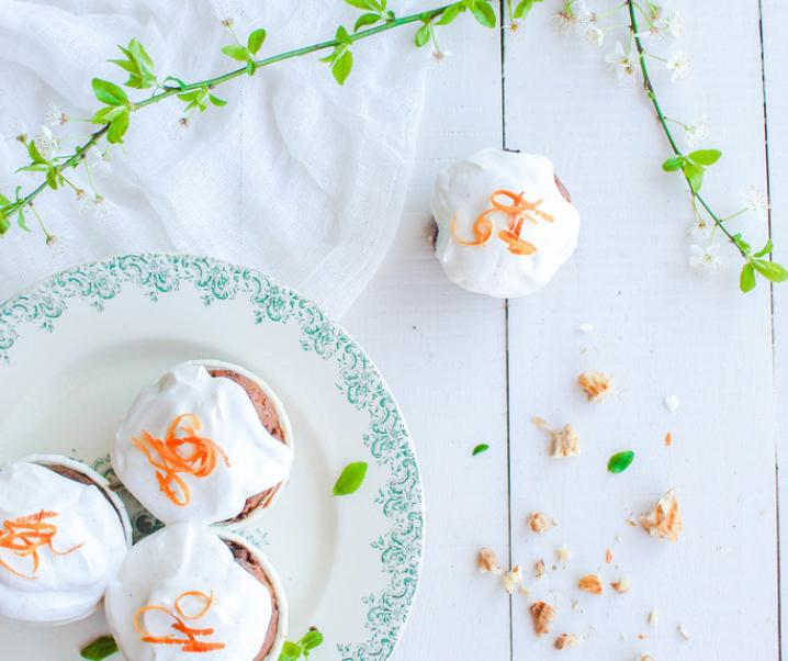 Carrot cake glaçage à la ricotta {sans gluten}