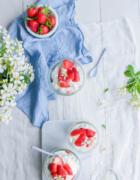 Tarte meringuée aux fruits rouges {sans lait}