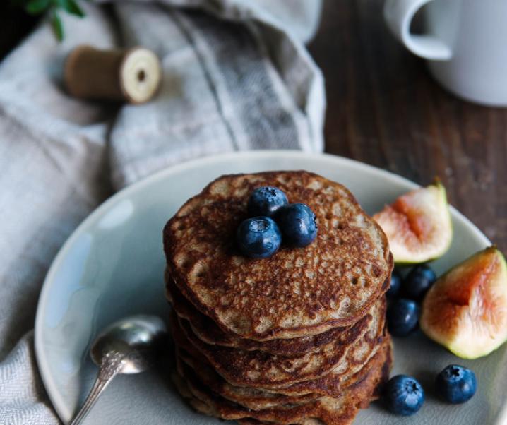 Pancakes au sarrasin {Vegan – glutenvrij}