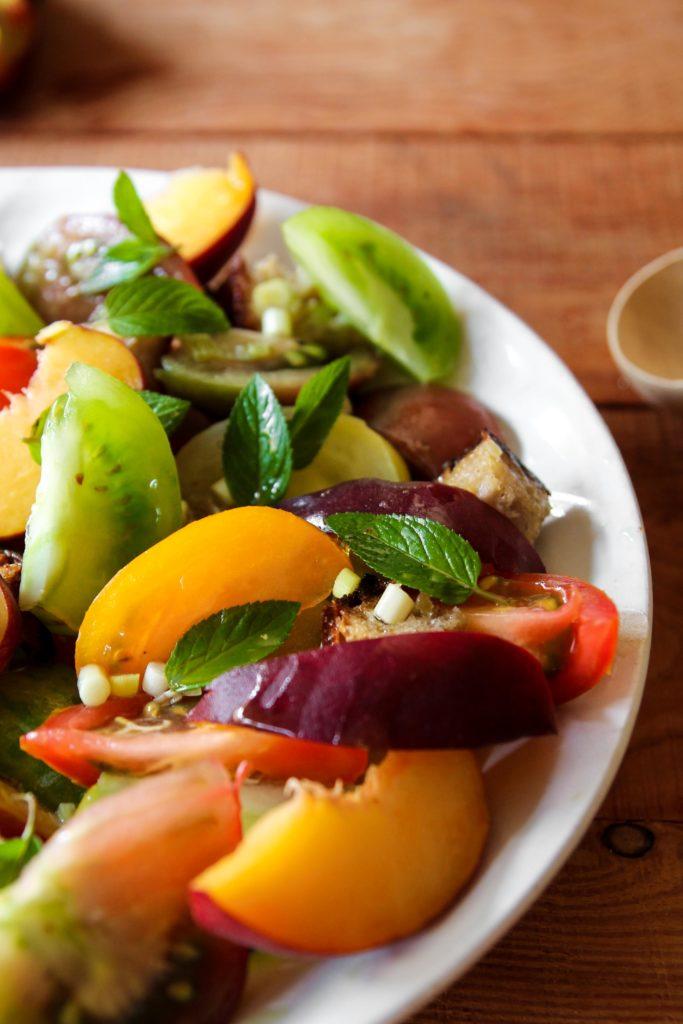 Panzanella aux tomates