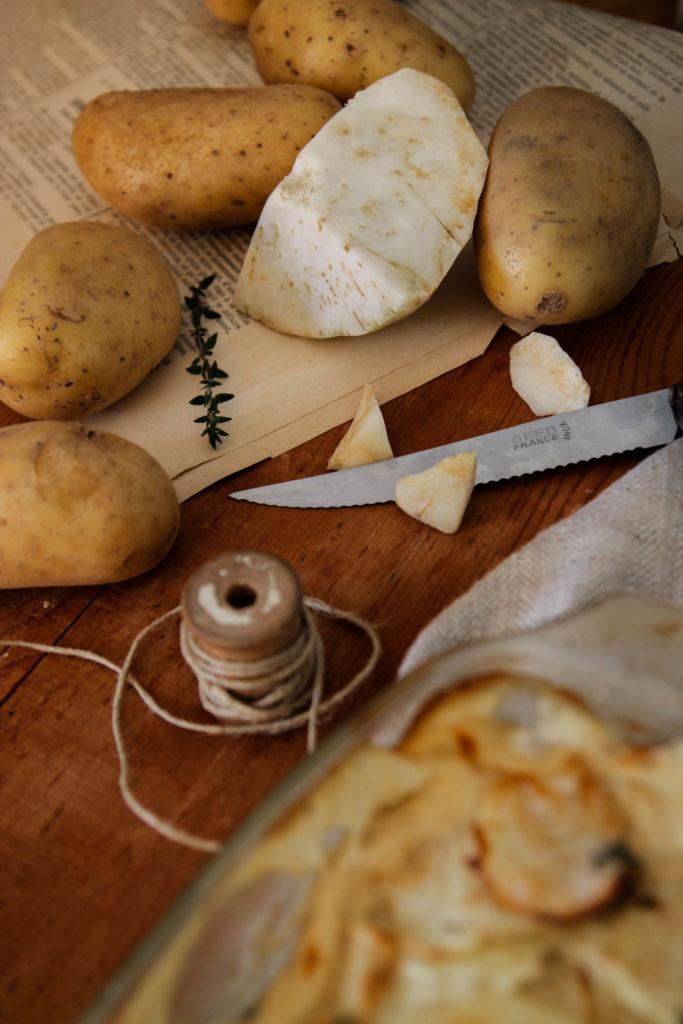 recette de Gratin de pommes de terre