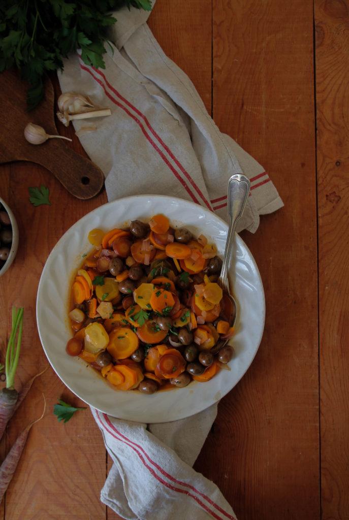 Cocotte de carottes recette
