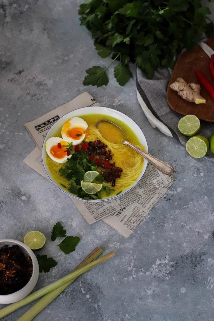 Soupe indonésienne