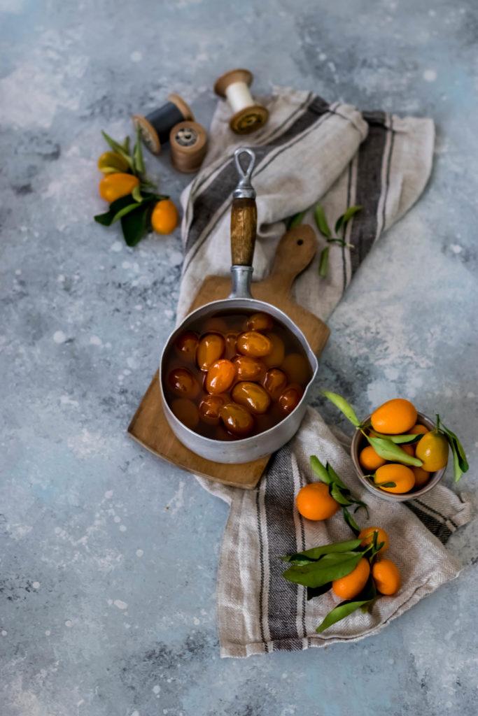 Kumquats confits facile