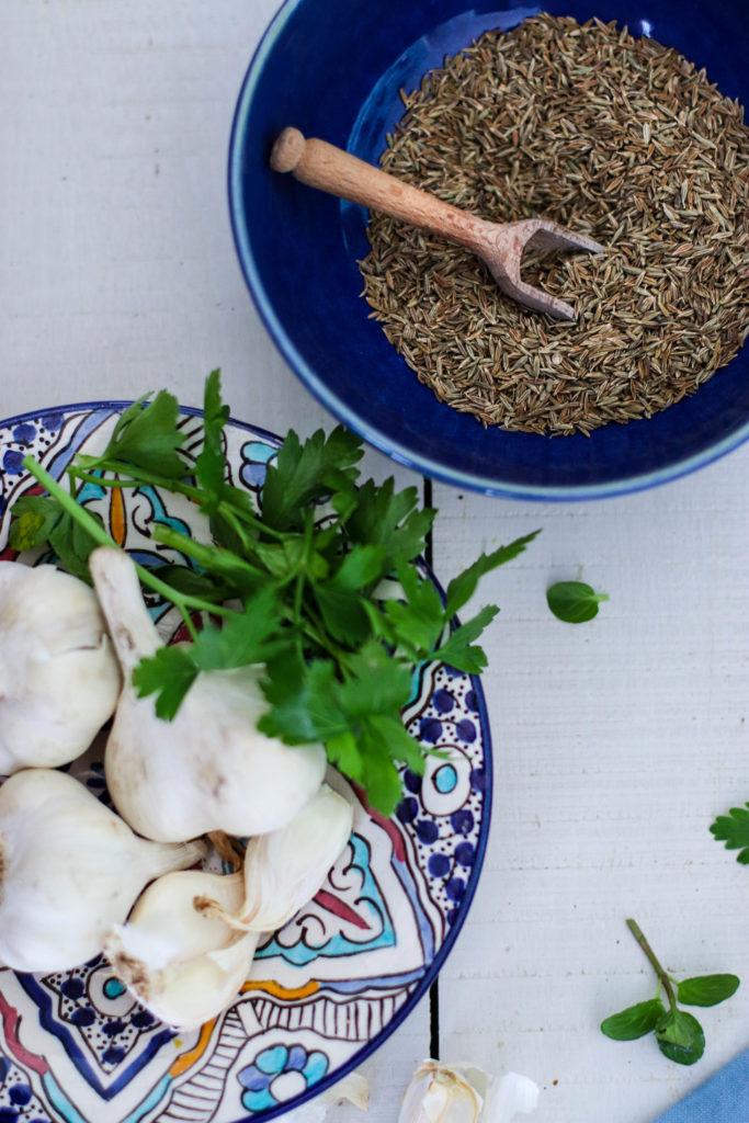 Salade marocaine recette