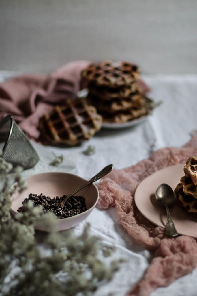 Gaufres au chocolat recette