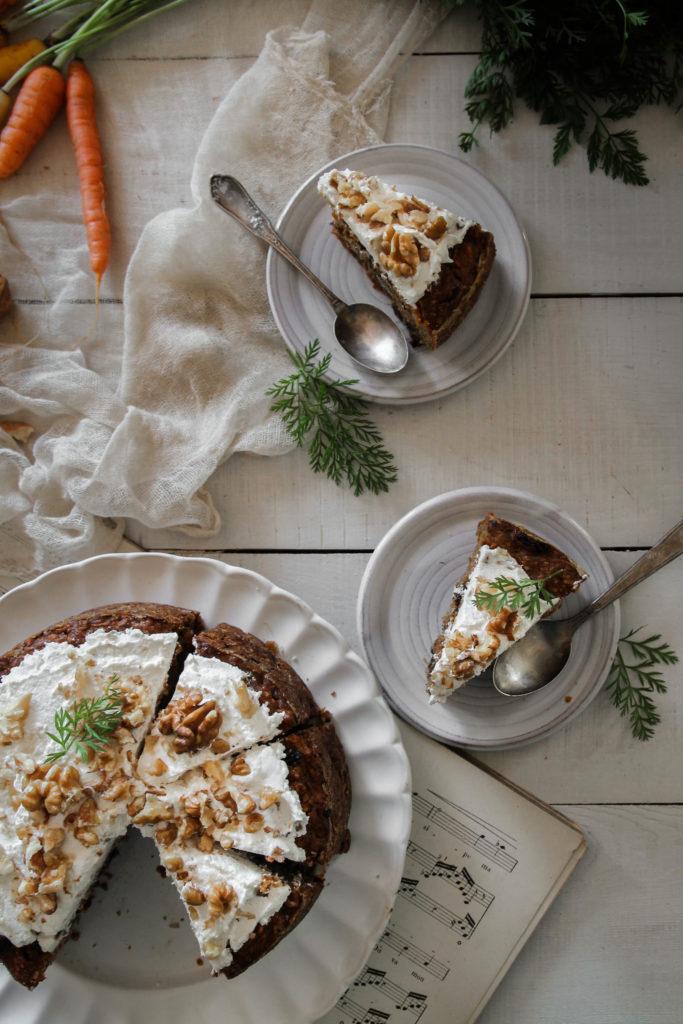 recette de gâteau carotte