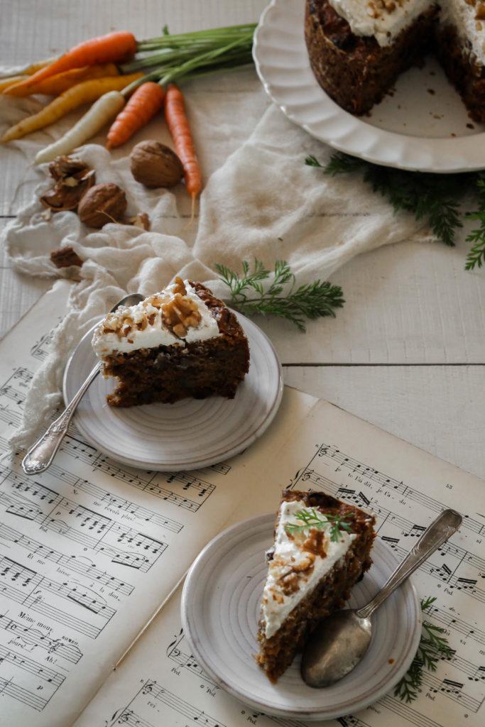 gâteau aux carottes recette