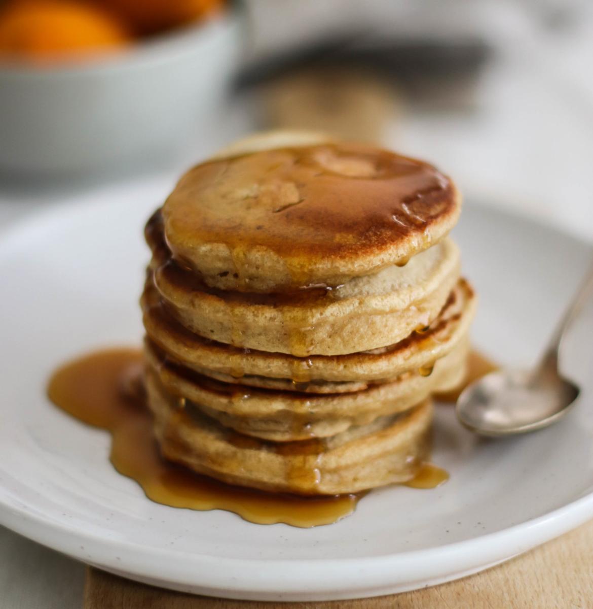 Fluffy pancakes {vegan}