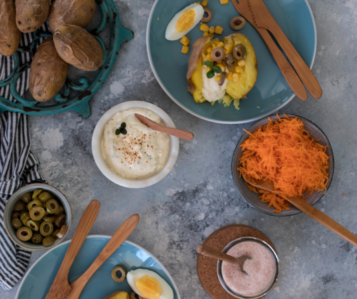 Pommes de terre farcies / kumpir