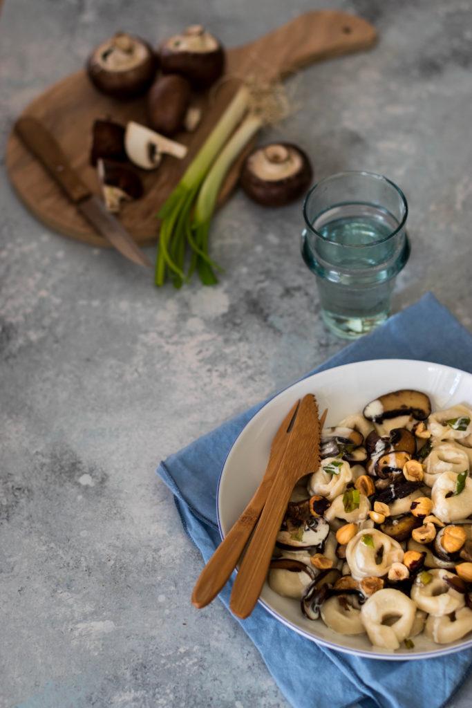 sauce champignons noisette