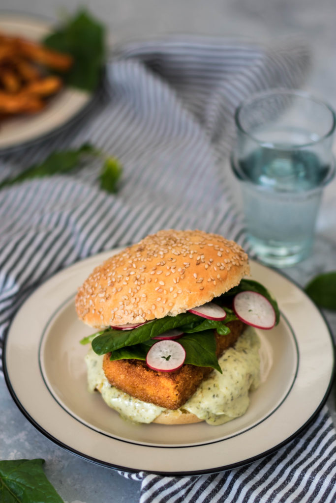 burger filet 'o' fish vegan