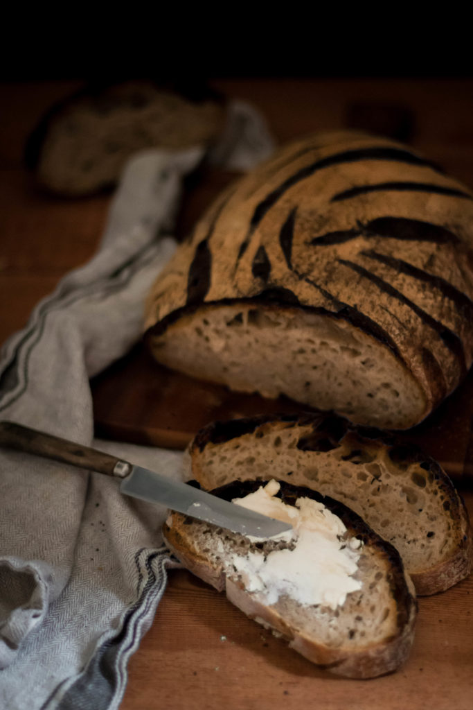 Pain au levain naturel