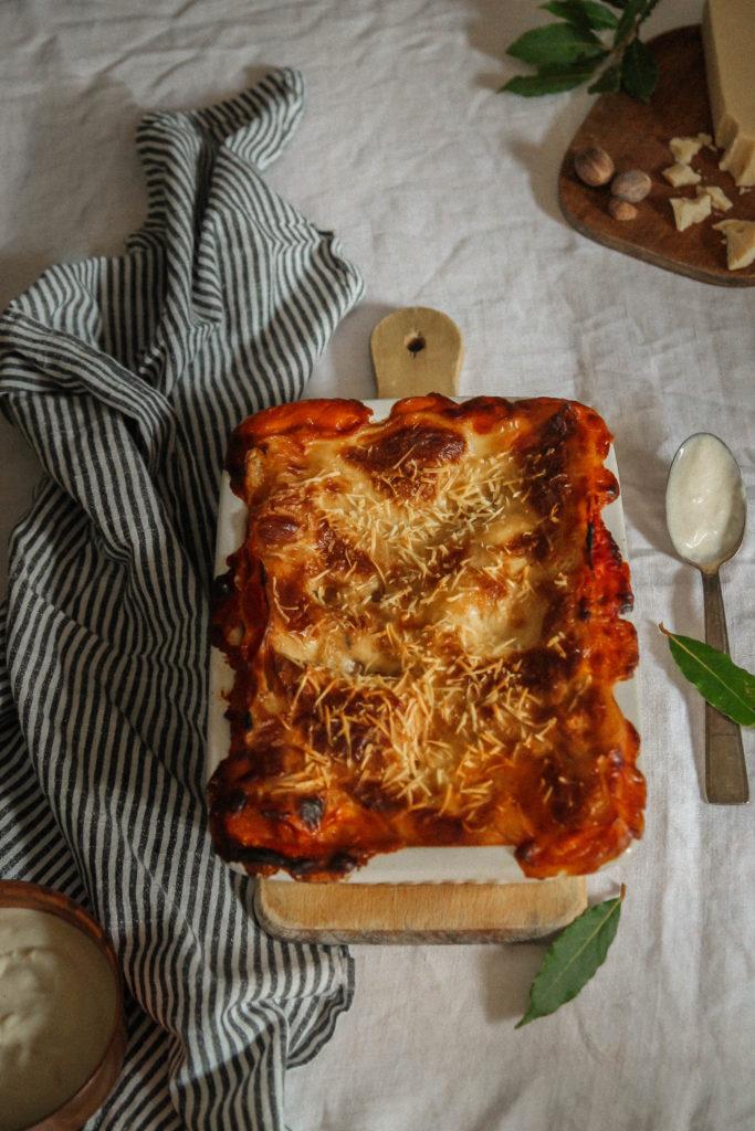 Lasagnes sans viande
