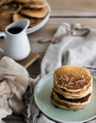 Scallion pancakes {Vegan}