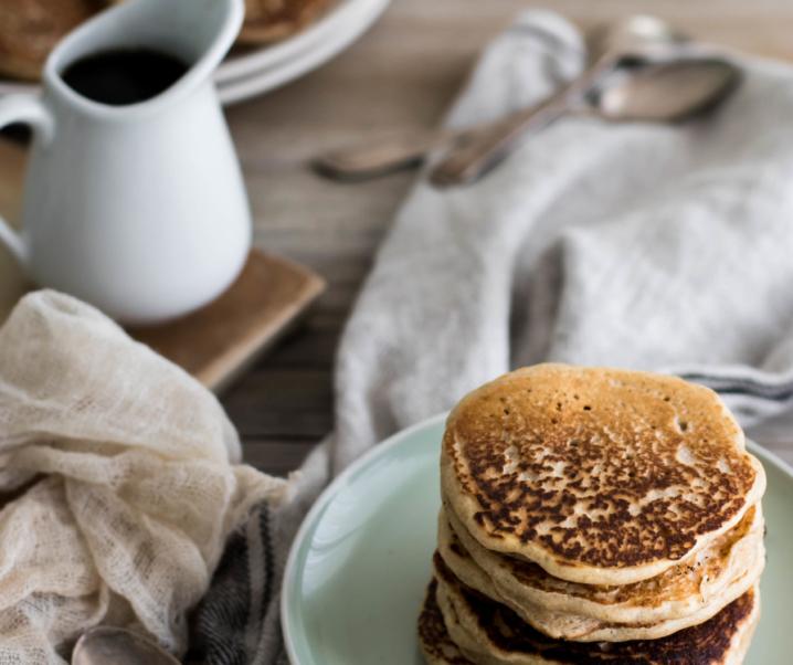 Pancakes au levain {vegan}