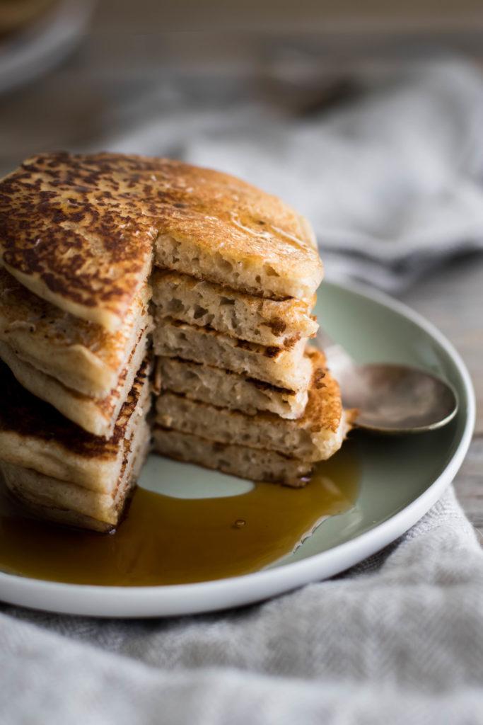 recette de pancakes au levain