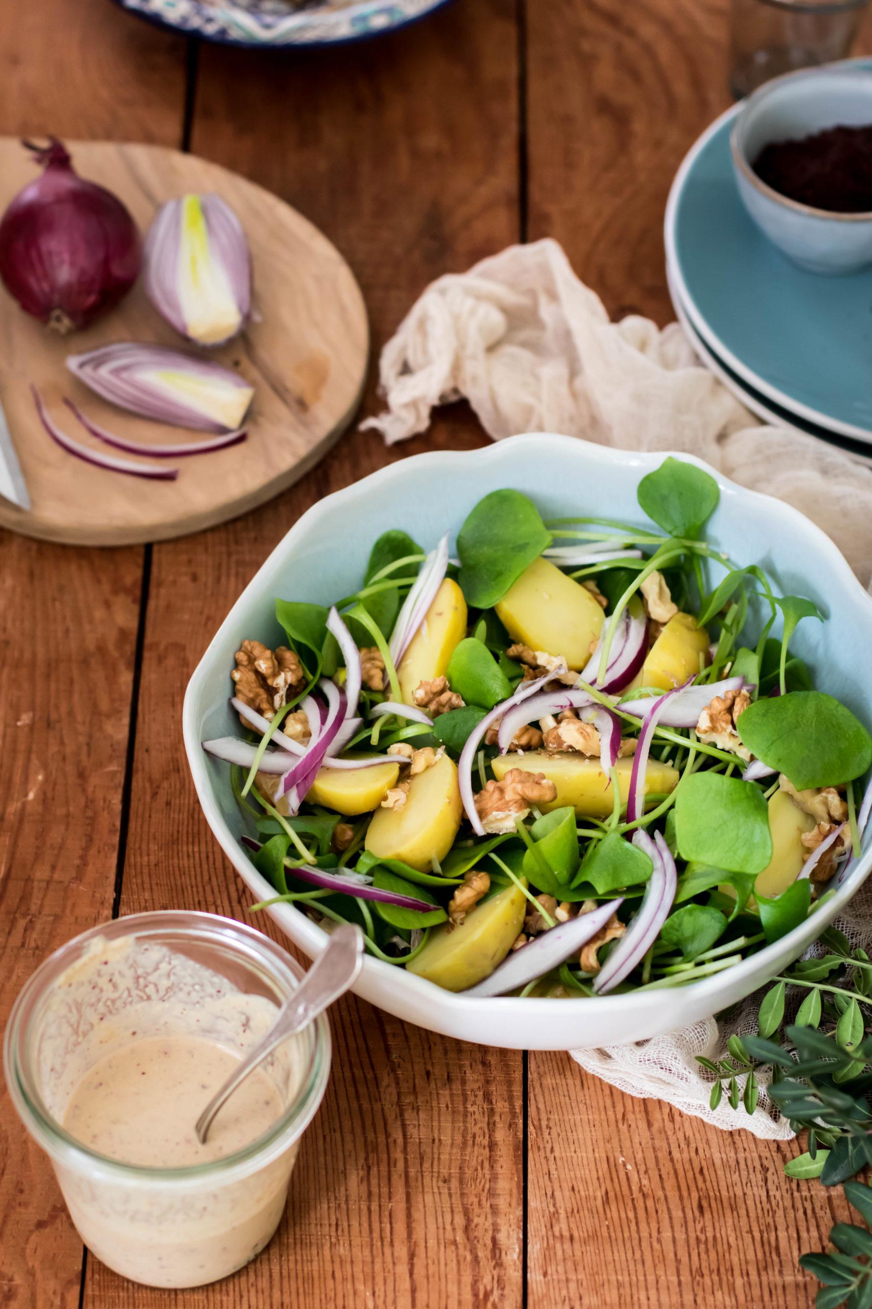Salade composée d'été
