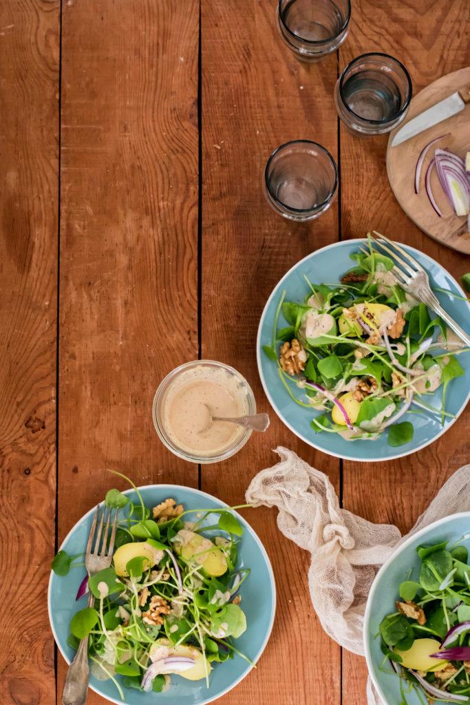salade légère d'été recette