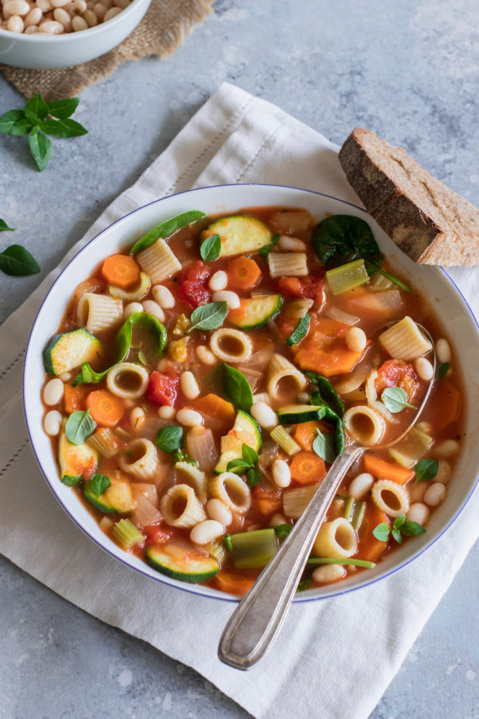 minestrone soupe