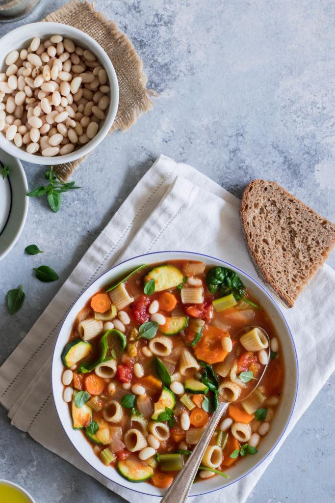 recette soupen minestrone